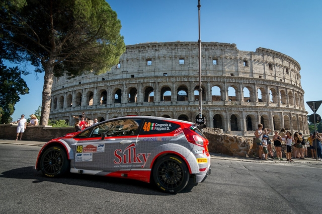 Il Campionato Italiano Rally 2018 arriva al settimo atto sugli sterrati dell'entroterra marchigiano