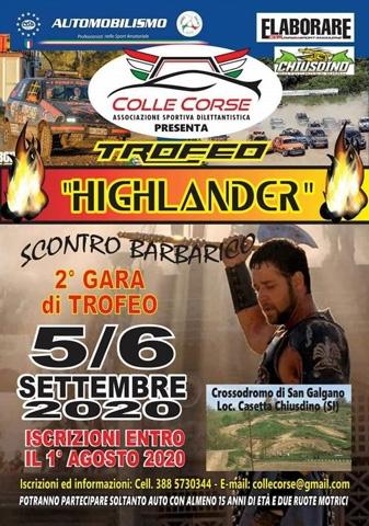 Il ritorno del Trofeo Highlander Terra