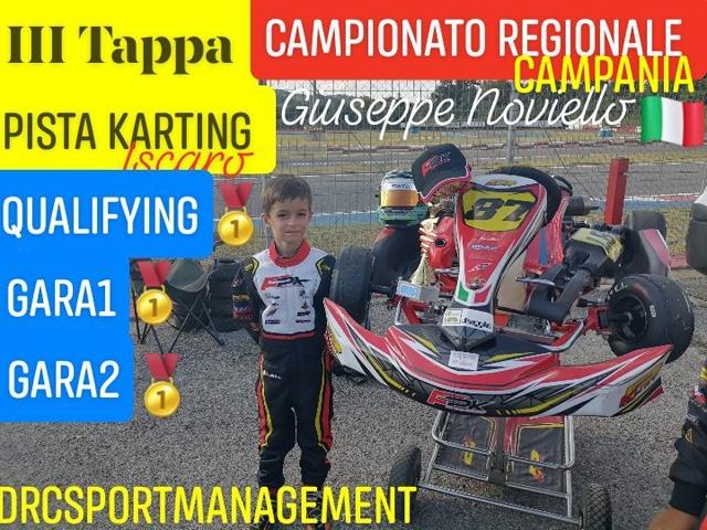 Kartodromo Iscaro Giuseppe Noviello protagonista