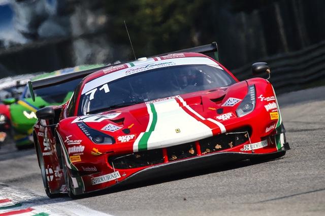 Rovera all'esordio su Ferrari 488 GTE alla 4 Ore di Portimao in ELMS