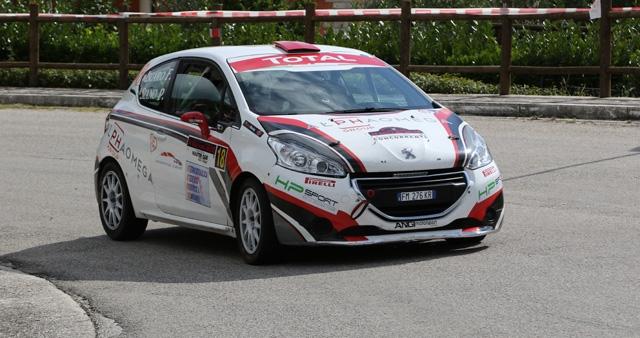 HP SPORT Team approda alla finale nazionale di Coppa Italia Rally con due piloti: Siano e Massaro