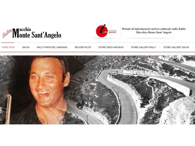 Nasce il portale salitamacchiamontesantangelo, il magazine storico sulla Salita e dei rally  sul Gargano