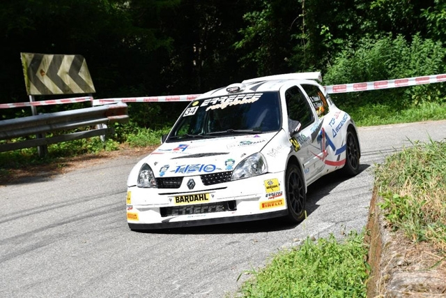 ERREFFE RALLY TEAM-BARDAHL: TIZIANI È' PRIMO DI UNDER25 AL RALLY LANA