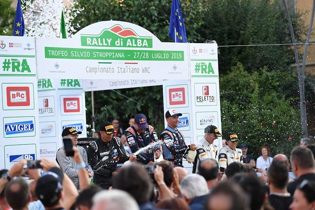 IL CAMPIONATO ITALIANO WRC 2020 INIZIA CON LO SHOW DEL RALLY ALBA