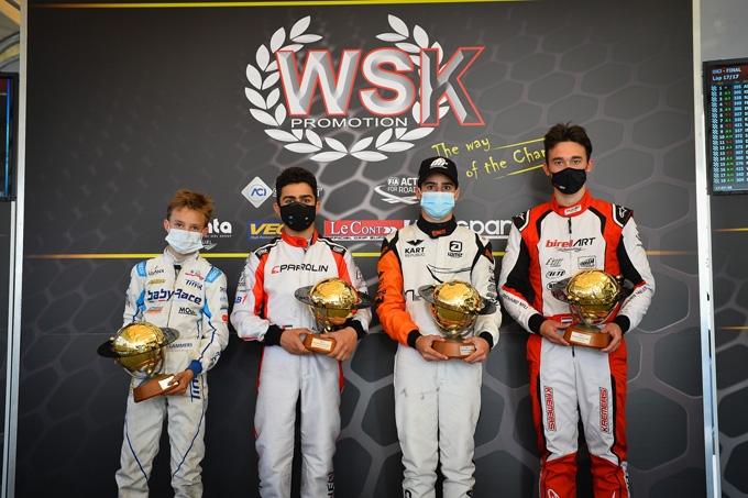 I campioni della WSK Super Master Series 2021