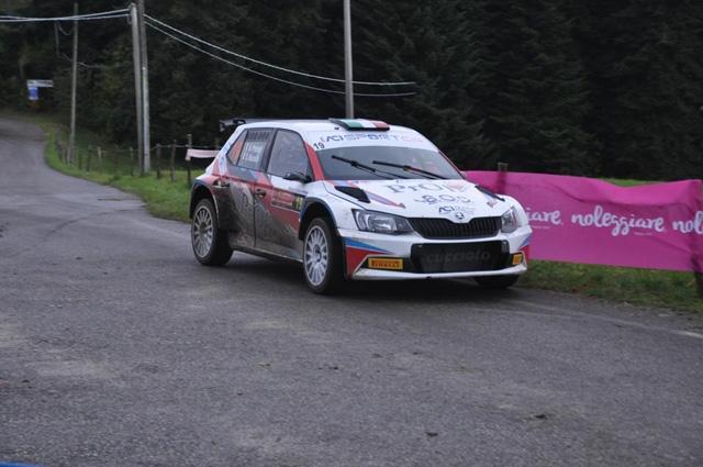 Alessio Profeta, navigato da Sergio Raccuia, al Rally Due Valli si laurea campione italiano rally asfalto under 25