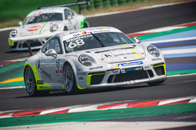 AB Racing brilla in Michelin Cup a Misano nella Carrera Cup Italia