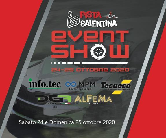 EVENT SHOW PISTA SALENTINA   24-25 OTTOBRE