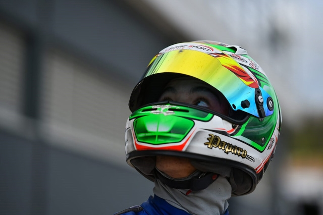 Michael Paparo pronto per il WSK Super Master Series