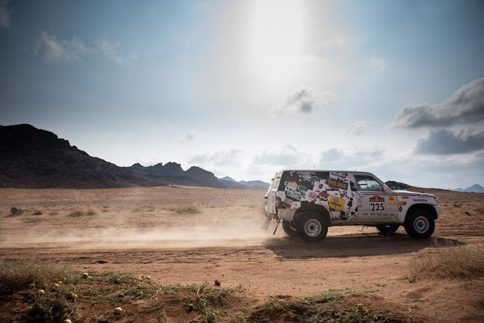 Tappa impegnativa per la Squadra Corse Angelo Caffi alla Dakar Classic