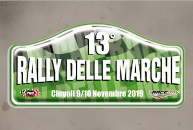 Elenco Iscritti 13°Rally delle Marche