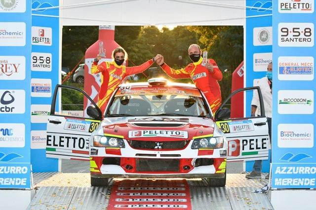 Al Rally Trofeo delle Merende Peletto e Andreussi sul podio