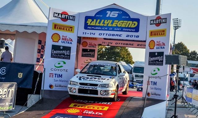 Veneto Motori presente al Rallylegend con 6 equipaggi