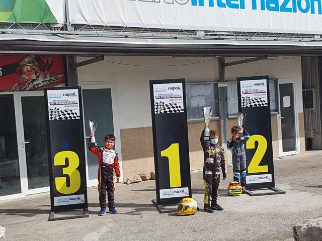 Il XXII Trofeo Karting G. Pagliuca a Napoli non tradisce le attese: tantissime le battaglie