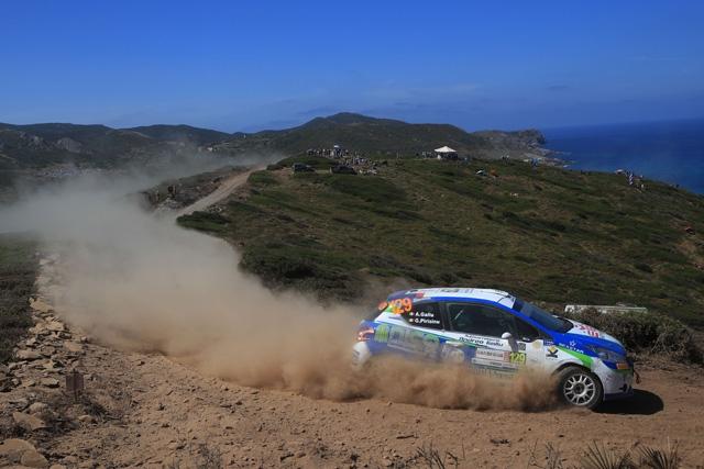Campionato Italia Rally terra con Gallu-Pirisinu - Buona la prima!