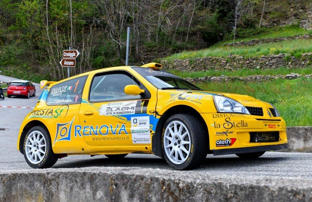 CAFFONI SERVE IL POKER AL 6° RALLY 2 LAGHI