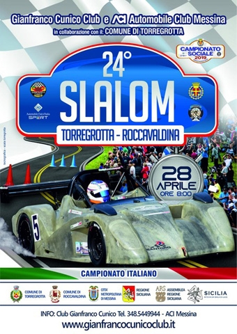 Pronto alle verifiche il 24° Slalom Torregrotta - Roccavaldina