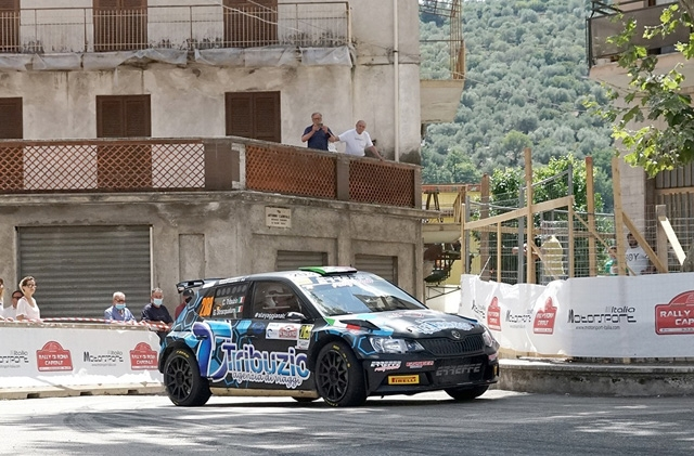 ERREFFE RALLY TEAM-BARDAHL È SECONDA ASSOLUTA AL RALLY DI PICO