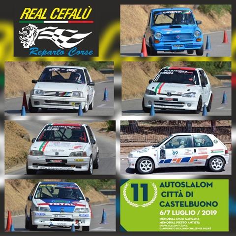 L' 11° AUTOSLALOM CITTA' DI CASTELBUONO SORRIDE AL REAL CEFALU' REPARTO CORSE