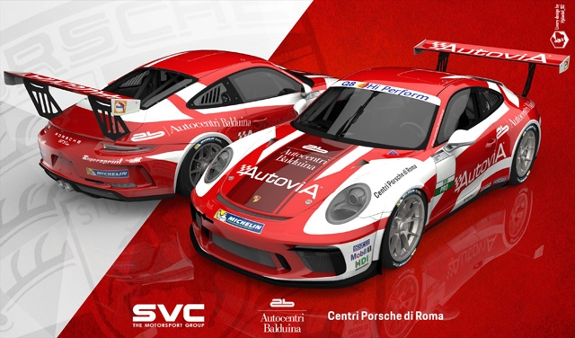 AB Racing con Berton, De Luca e Monaco nella Carrera Cup Italia 2019