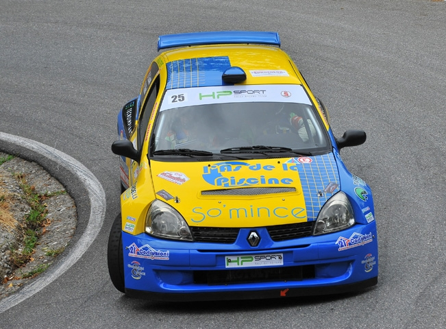 Simone Crosara e HP Sport RRT   al via del Rally di Scorzè valido per la Coppa Rally 4 Zona