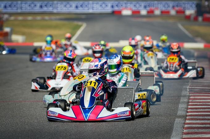 A Lonato nella WSK Open Cup le pole position di Palomba (KZ2), Coluccio (OK), Egozi (OKJ) e  Bottaro (MINI)