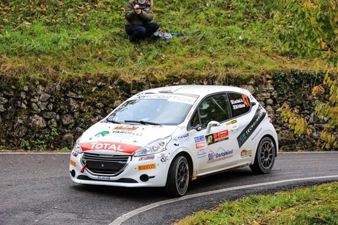 SORRISO A META' PER CHRISTOPHER LUCCHESI AL RALLY DUE VALLI