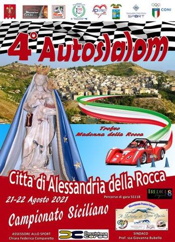 Il 4° Autoslalom Città di Alessandria della Rocca accende i motori. La gara automobilistica tra i birilli è in programma il 21 e 22 agosto.
