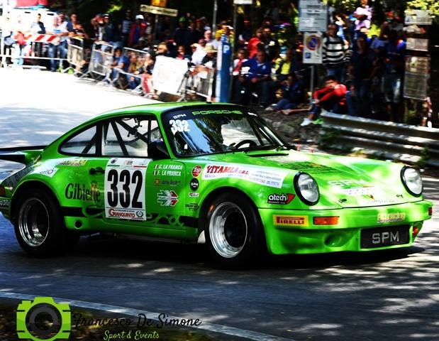 Al via della cronoscalata termitana la Scuderia RO racing con La Franca e Ferrauto.