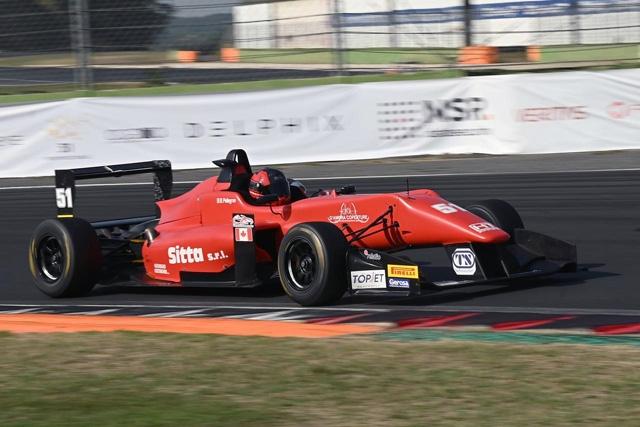 Pellegrini  in pole nel Topjet  F2000 Italian Trophy a Vallelunga