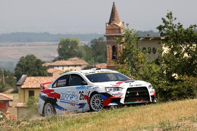 Superti-Brunetti nel Campionato Italiano Rally al 38° Rally Due Valli