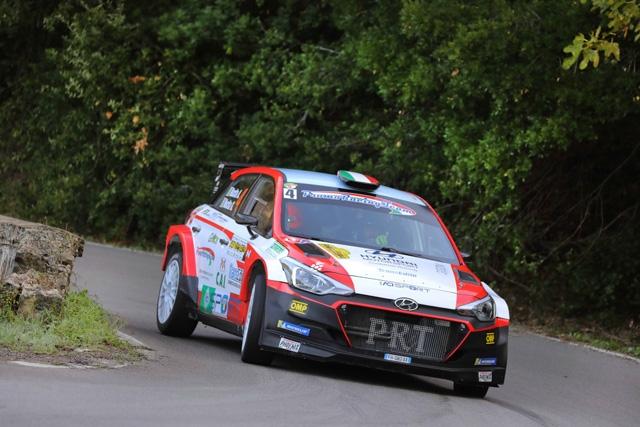 I Nucita al Rally  2 Valli con nuovi propositi