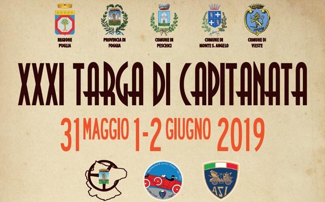 XXXI Targa di Capitanata dal 31 maggio al 2 giugno tornano i motori sul Gargano