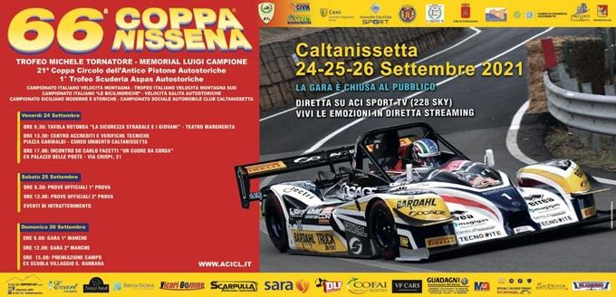 La 66^ Coppa Nissena è pronta
