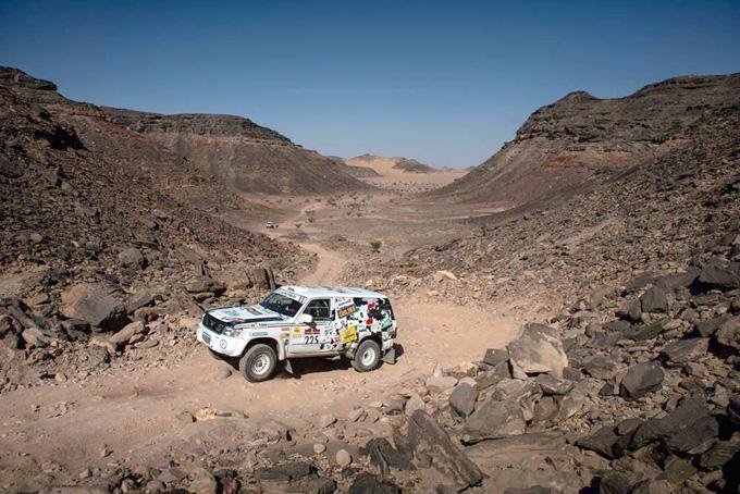Carcheri e Musi salgono al nono posto assoluto dopo la quinta tappa della Dakar Classic