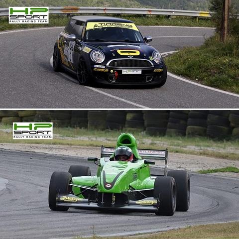 Salita e Slalom gli appuntamenti del week end di HP Sport RRT impegnata con 'King Dragon' e Davide Belli