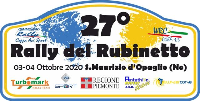 IL 27° RALLY DEL RUBINETTO SI FA CALDO: GIÀ 120 ISCRITTI!