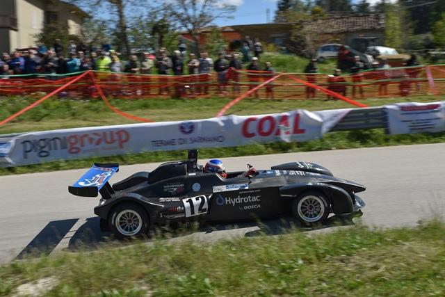 Sui tornanti della 45^ Alpe del Nevegal prosegue la stagione di Stefano Crespi nel Campionato Italiano Velocità Montagna 2019