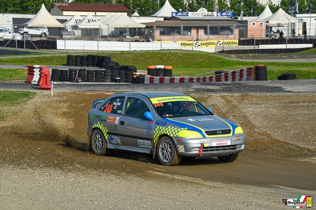 Jean Claude Vallino vincente anche nel Rally Cross