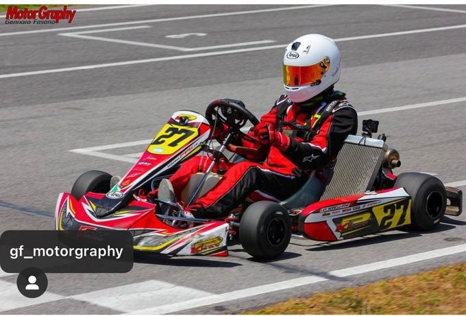 Norelli Francesco fa il Bis nel Campionato Regionale Karting Campania