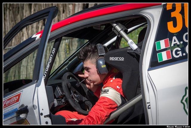 Alessandro Casella - Rosario Siragusano nel Tricolore Asfalto per i colori CST Sport con il Team MS Munaretto
