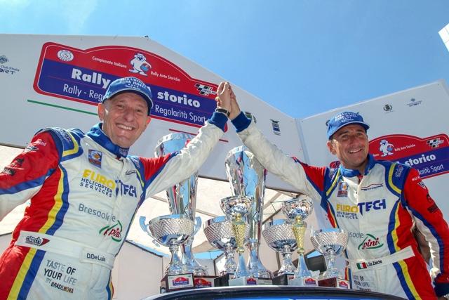 Da Zanche trionfo da antologia al Rally Lana su Porsche gruppo B
