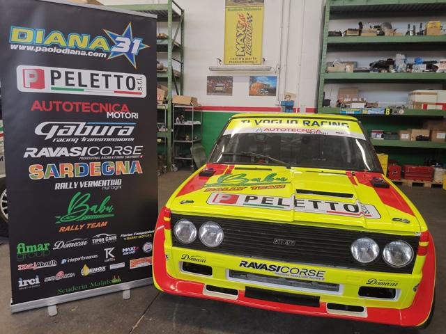 Paolo Diana al 18° Rallylegend con i colori della Peletto Stefano Peletto