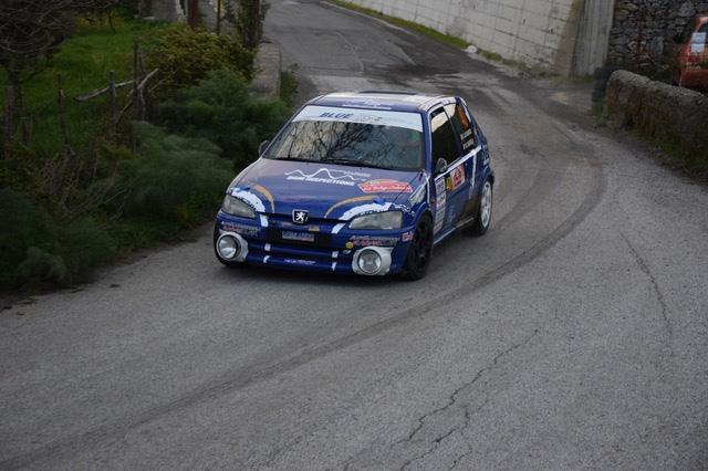 Lo Cascio-Castelli su Peugeot primi leader del 20° Rallye dei Nebrodi