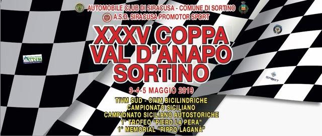Si presenta Domani la XXXV COPPA VAL D'ANAPO SORTINO