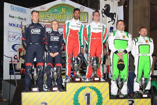IL CAMPIONATO ITALIANO RALLY AUTO STORICHE 2019 DEBUTTA NEL 9° HISTORIC RALLY DELLE VALLATE ARETINE