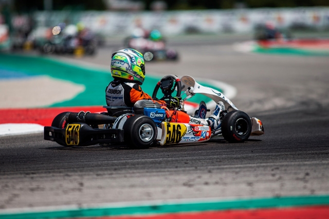 FULL IMMERSION NELLA WSK OPEN CUP PER IL TEAM DRIVER.