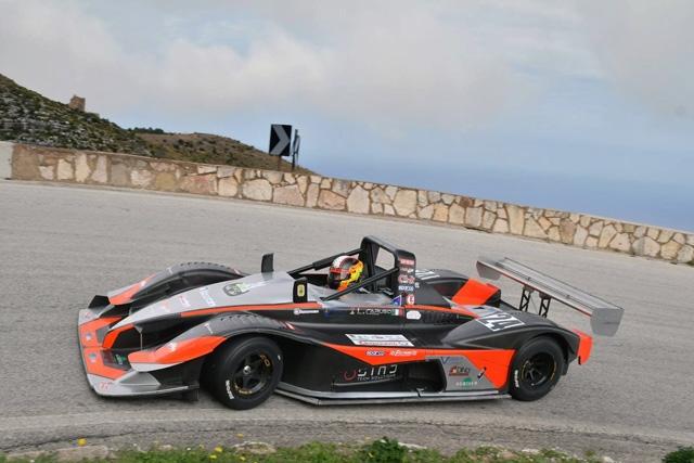 Caruso sul podio della 62^ Monte Erice