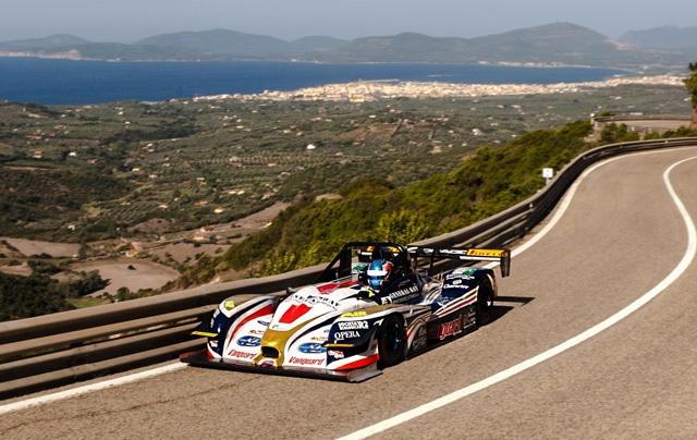 Omar Magliona rispetta il pronostico e centra la vittoria con record alla 57^ cronoscalata Alghero-Scala Piccada al volante della Norma M20FC