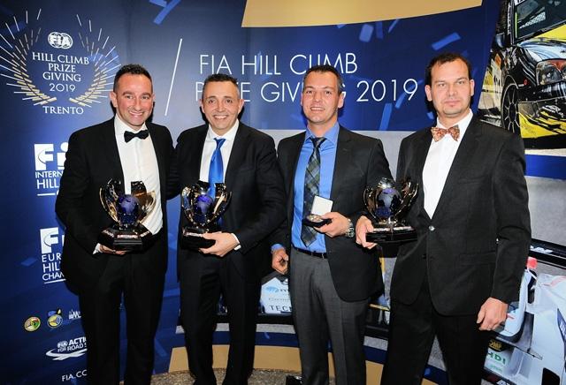 I big del Campionato Europeo della Montagna premiati ieri al Palazzo della Regione a Trento